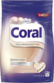 Coral Vollwaschmittel Sensitive - 1,12 kg - 16 prań