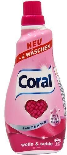 Coral Sanft&Weich 1,2 l - 24 prania - do wełny i jedwabiu