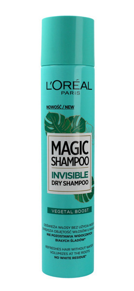 Loreal Paris Vegetal Boost 200 ml - suchy szampon do włosów