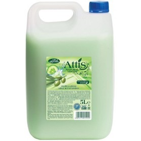 Attis - mydło w płynie 5 l - oliwka i ogórek