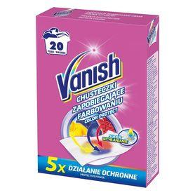 Vanish chusteczki zapobiegające farbowaniu 20 szt