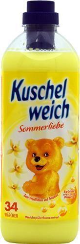 Kuschelweich Sommerliebe 1 l - 34 płukania