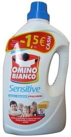 Omino Bianco Sensitive 2 l - 30 prań - płyn do prania HIPOALERGICZNY