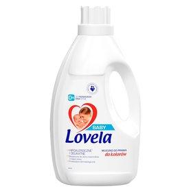 Lovela 1,45 l - hipoalergiczne mleczko do prania kolorów