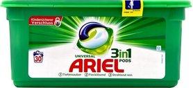 Ariel kapsułki 3 w 1 Uniwersal - 30 prań