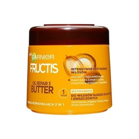 Garnier Fructis Oil Repair 3 Butter 300 ml - maska do włosów