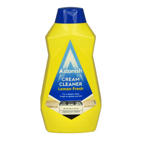 Astonish Cream Cleaner Lemon Fresh 500 ml - mleczko do czyszczenia
