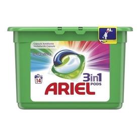 Ariel kapsułki 3 w 1 Color - 14 prań