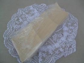 Ceramiczna podstawka pod świeczkę - kremowa