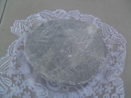 Ceramiczna podstawka pod świeczkę - talerz (1)