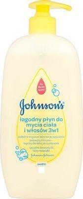Johnson's 500 ml - płyn do mycia ciała i włosów 3w1