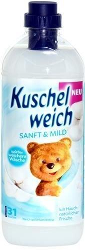 Kuschelweich Sanft & Mild 1 l - 31 płukań