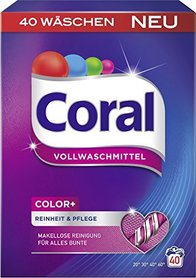 Coral Color - 2,4 kg - 40 prań