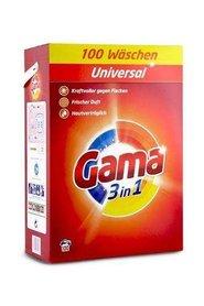 Gama - proszek uniwersalny 3 w 1 - 6,5 kg - 100 prań