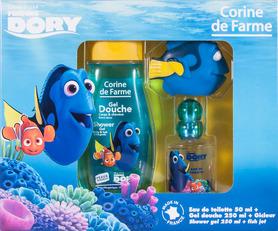Disney Dory - zestaw dla dzieci (woda toaletowa 50 ml, żel pod prysznic 250 ml, zabawka gumowa do kąpieli)