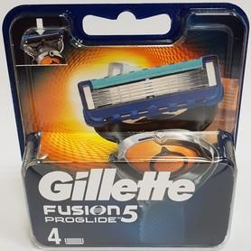 Gillette Fusion Proglide 5 - zestaw wkładów do maszynki do golenia - 4 szt