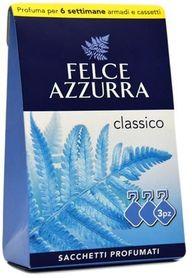 Felce Azzurra Classico - saszetki zapachowe do szaf - 3 szt
