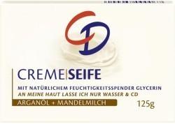 CD Creme Seife Arganol+Mandelmilch - 125 g - mydło w kostce