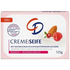 CD Creme Seife Beeren+Mandelmilch - 125 g - mydło w kostce