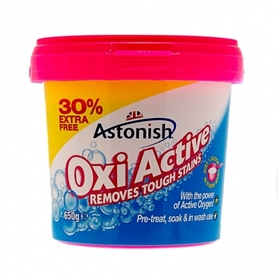 Astonish Oxy odplamiacz w proszku 650 g