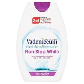 Vademecum Non-Stop-White 2 in 1 - 75 ml - pasta do zębów + płyn do płukania jamy ustnej