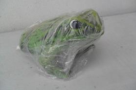 Gipsowa żaba do ogrodu