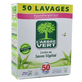 L'Arbre Vert - proszek do prania - universal / hipoalergiczny i ekologiczny - 50 prań