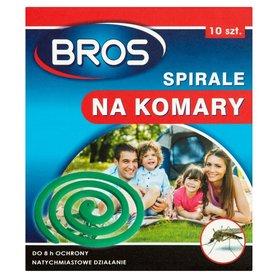 Bros spirale na komary - 10 szt