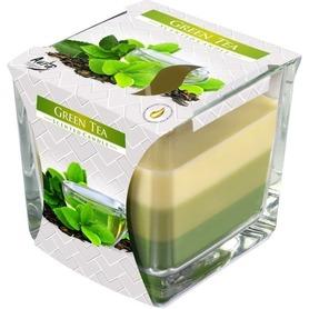 Świeca zapachowa w szkle - zielona herbata