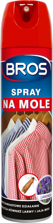 Bros spray na mole 150 ml