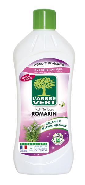 L'ARBRE VERT ROMARIN - uniwersalny płyn czyszczący 1 l