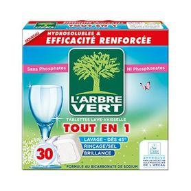 L'Arbre Vert - tabletki do zmywarki - 30 szt.
