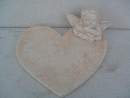 Gipsowa podstawka pod znicze anioł (1)
