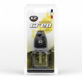 Odświeżacz powietrza do samochodu K2 Creo Lemon 8 ml