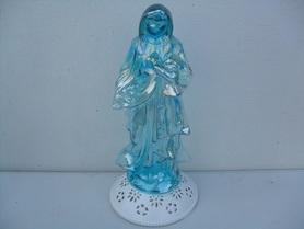 Znicz szklana Maryja - figurka