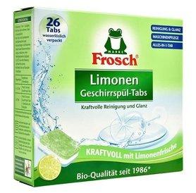 Frosch tabletki do zmywarki - 520 g - 26 sztuk - limonka
