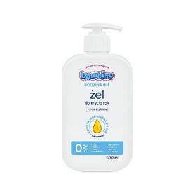 Bambino 500 ml - hipoalergiczny żel do mycia rąk