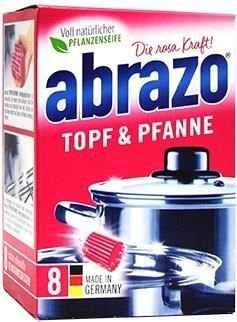 Abrazo - gąbki do czyszczenia garnków 8 szt