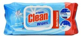 At home Clean Wipes - chusteczki uniwersalne - 60 sztuk