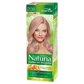Joanna Naturia - farba do włosów 208 - różany blond