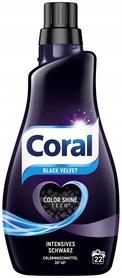 Coral Black Velvet 1,1 l - 22 prania - do czarnego
