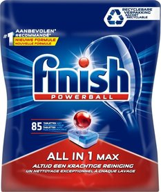Finish Powerball All in 1 Max - 85 tabletek