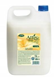 Attis - mydło w płynie 5 l - mleko i miód