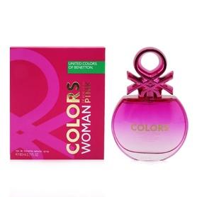 Benetton Colors Woman Pink 80 ml - woda toaletowa