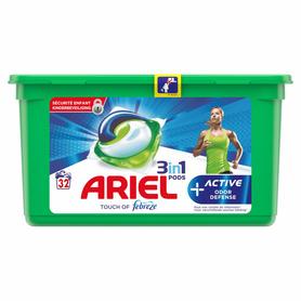 Ariel kapsułki 3 in 1 Active - 32 prania
