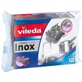 Vileda zmywak INOX Clean & Shine - 2 szt