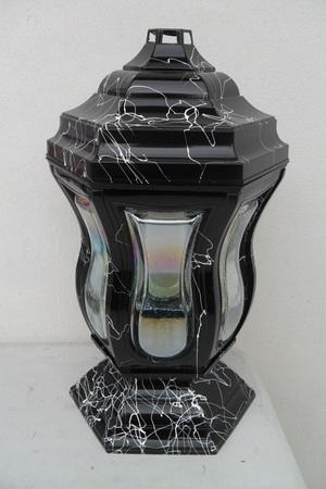 Znicz lampion a'la marmur (1)