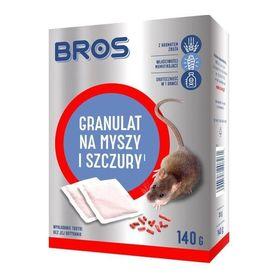 Bros granulat na myszy i szczury - 140 g