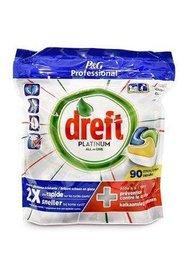 Dreft Platinum Lemon - 90 sztuk - kapsułki do zmywarki