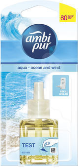 Ambi pur wkład do elektrycznego odświeżacza powietrza ocean i wiatr